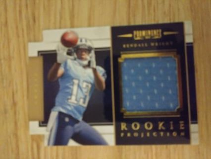 Kendall wright rc jersey cd 205/299 plus 2 rookies