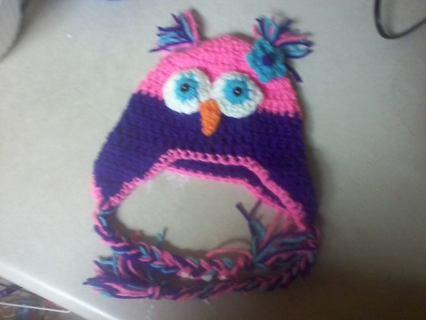 cute crochet owl hat pattern!!!!!