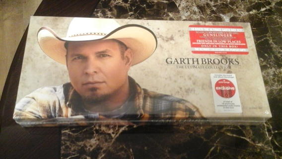 BNIP Never Opened Garth Brooks The Ultimate Collection 10 CD set