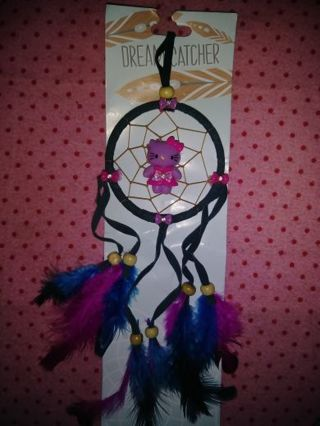 ❤✨❤BRAND NEW BLUE & PURPLE HELLO KITTY DREAM CATCHER❤✨❤ONLY 1!