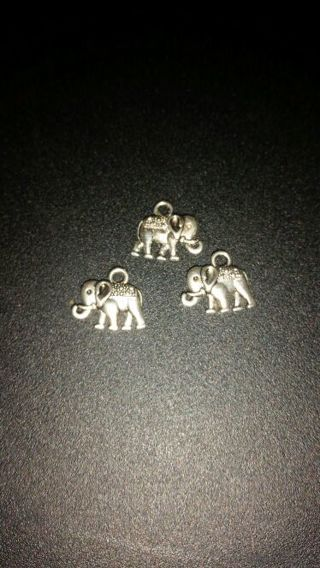 3 elephant charms