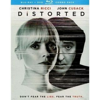2018 Distorted Blu-ray DvD Combo Movie Disc-New & Sealed-Rated R-Don't Fear the Lies-Fear the Truth!