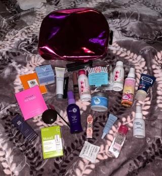 ULTA Cosmetics Bag FULL