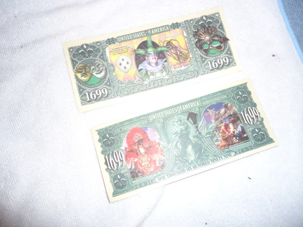 MARDI GRAS FUN MONEY