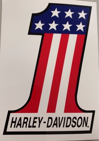 Harley Davidson #1 Sticker