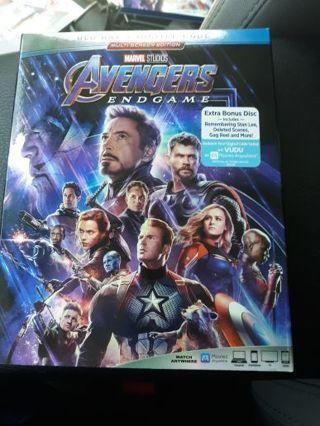 Marvel Avengers Endgame Blue Ray Auction #4