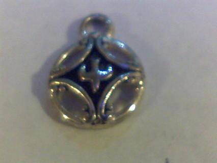 Upside Down Fleur de Lis Necklace Pendant