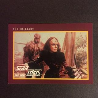 1991 Star Trek Next Generation (Series II) 25th Anniversary Trading Card ~ THE EMISSARY ~ CARD # 234