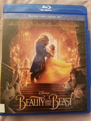 Disney Beauty and the Beast Blue Ray Disc