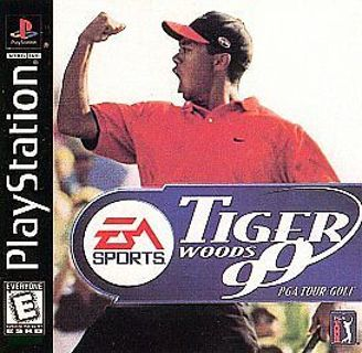 Tiger Woods 99 PS1 Games
