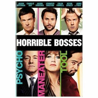 HORRIBLE BOSSES- DVD⭐DISC ONLY⭐Kevin Spacey, Colin Farrell, Jennifer Aniston