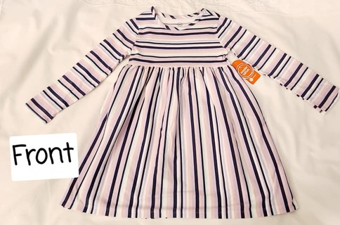 LITTLE GIRLS DRESS SIZE 4T BRAND NEW WITH TAGS
