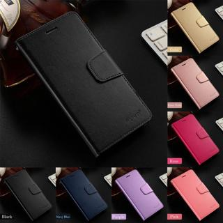 For Xiaomi Redmi Note 4 4X 5 6 Pro Business Slim Leather Case Flip Wallet Cover