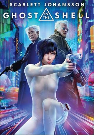 """""""Ghost in the Shell"""" 4k I Tunes Digital Movie Code"""