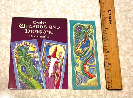 Wizards and Dragons Bookmark (1 bookmark left)