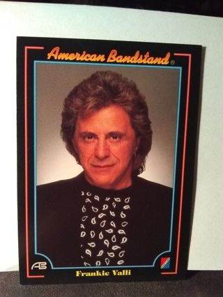 American Bandstand Trading Card Frankie Valli