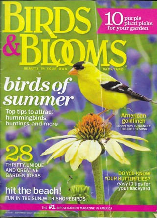 Birds & Blooms Magazine August/September 2014 Issue