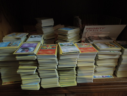 1001 Pokemon Card Tiered Lot