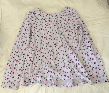 Jumping beans girls shirt size 7