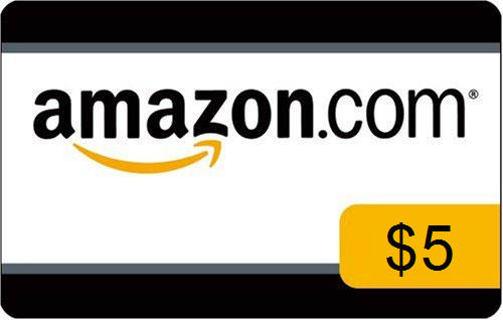 $5.00 Amazon gift card code!!!