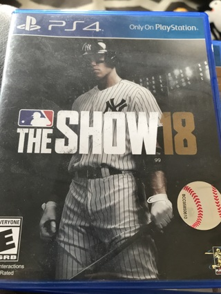 Free: The show 2018 ps 4 - PlayStation Games - Listia com