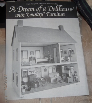COPY OF MINITURE DOLL HOUSE WITH WOOD WORKING DESIGNS AND PATTERNS