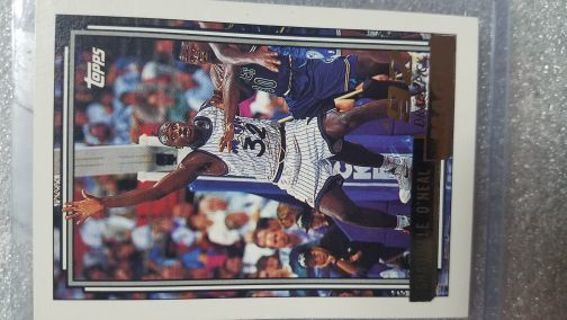 Free 1992 Topps Gold Shaquilleoneal Rookie Card 92draft
