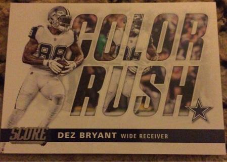Dez Bryant color rush insert