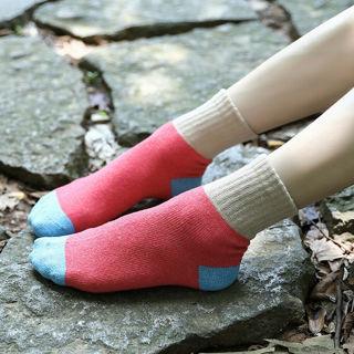 5Pair/Set Winter Women Warm Thick Knit Elastic Middle Tube Crew Socks