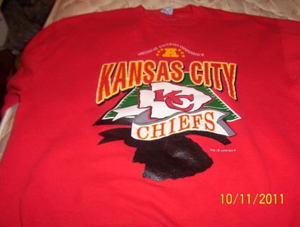 Kansas City Chiefs Sweatshirt  L