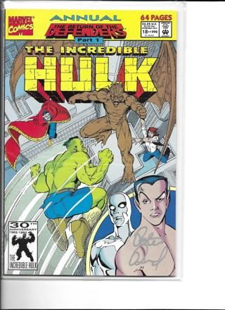The Incredible Hulk #18 64 Pages Big Copy