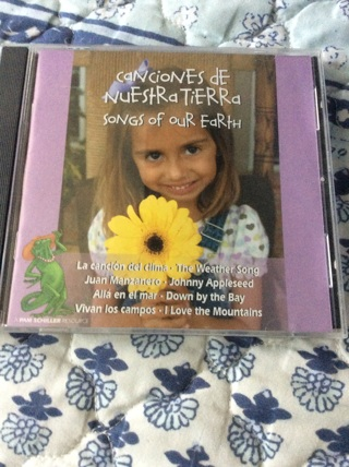 Cd -songs of our Earth