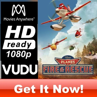PLANES: FIRE AND RESCUE  HD MOVIES ANYWHERE CODE ONLY