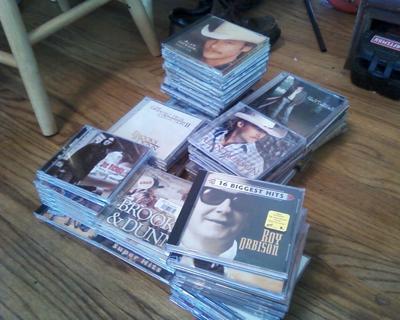 cuntry music cds
