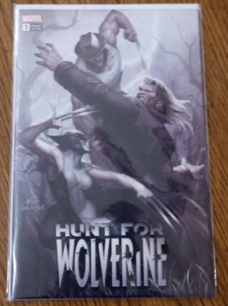 Hunt for wolverine variant edition #1 comic