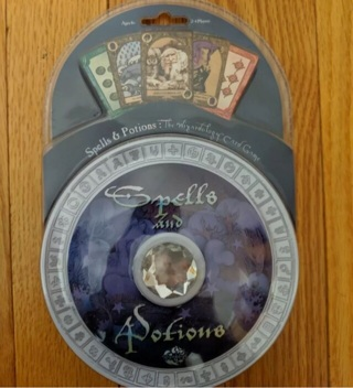 Wizardology Spelks and Potuons game NEW