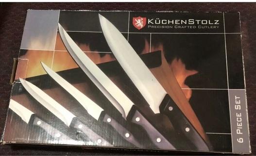 Kuchenstolz Precision Crafted Cutlery 6 Piece Set, NIB