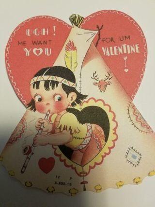 Vintage Valentine Cutout, #0216