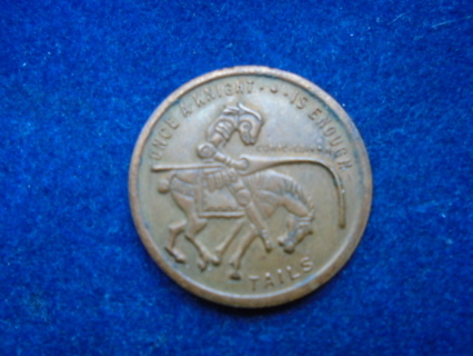 COMIC COIN 1965 ONCE A KING - ONCE A KNIGHT.. HIGH GRADE!