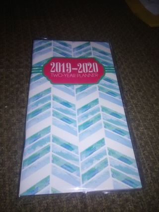 2019-2020 Two-Year Blue Planner (Last One)