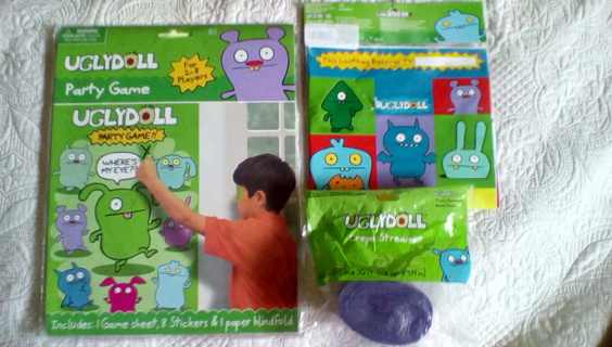 UGLY DOLL Trio party decorations