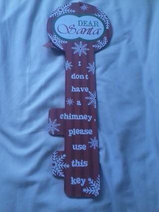 adorable  santa clause sign