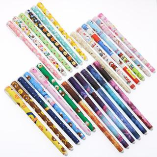 6 Color/Set Of Cartoon Cute Color Gel Pen Creative Stationery Pen 0.38mm School Office Stationery
