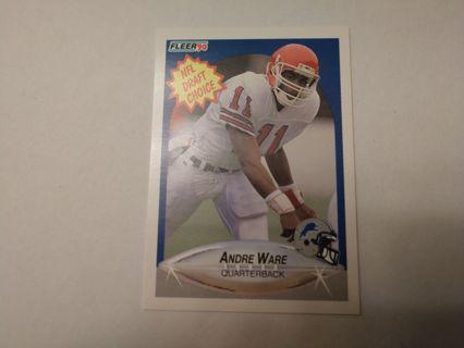 Andre ware rookie detroit lions