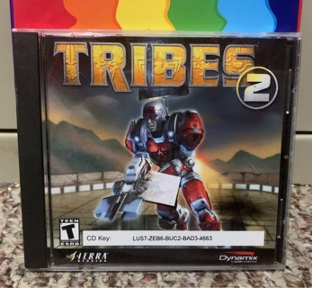 Tribes 2 (PC, 2000) Complete.