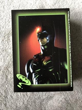 1995 Topps Batman Forever 88 Sticker Card Complete Base Set