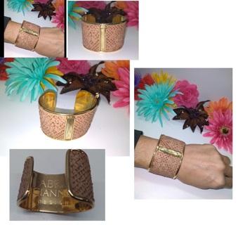Designer~ Fabrizio Giannone ~ Bracelet Cuff Jewelry