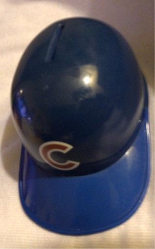 Previously Loved: Major League Baseball Licensed, Chicago CUBS Piggy Bank