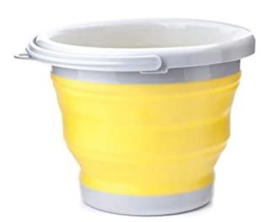 SALE! Kikkerland OR81-Y Collapsiblee Bucket