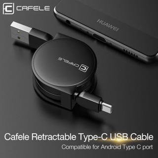 Type-C Retractable USB Data Sync Charger Cable Lead Mini For Samsung S8 S8+ S9